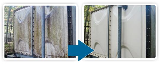 名古屋でお手頃な金額で石材洗浄を行うエコロビームとうかいのその他の洗浄写真